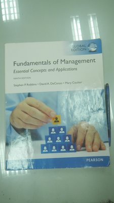 D5-5cd☆2015年出版『Fundamentals of Management 9/e』《PEARSON》