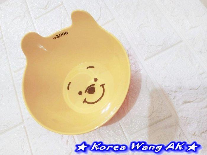 Korea Wang AK~(現貨)正韓 韓國代購空運 大創卡通瘋搶維尼系列維尼微笑耳朵造型碗 單個210元【IS26】