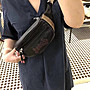 NaNa代購 COACH 76748 76649 新款女士腰包 胸包 休閒時尚 男女通用 頭層牛皮真皮 附購證