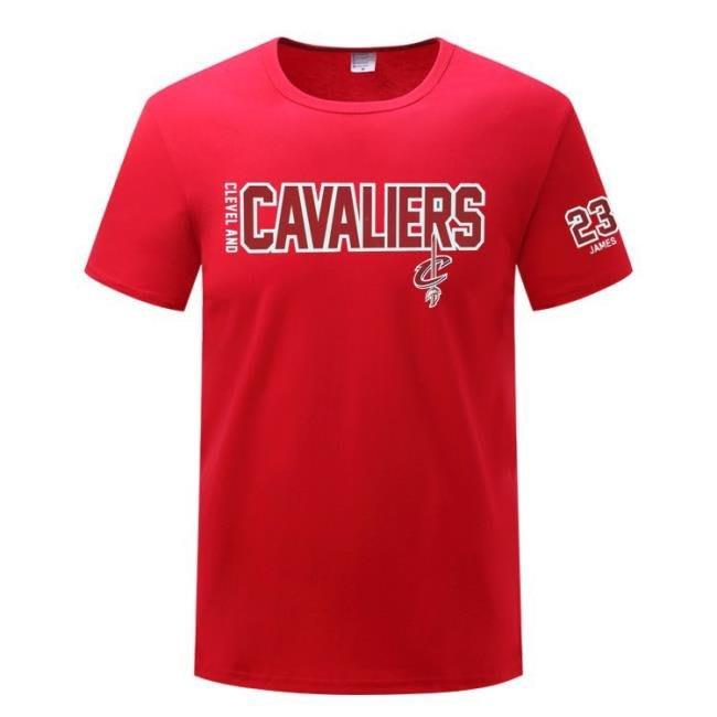 騎士純棉T恤 23號詹姆斯球衣男士運動休閑服 籃球短袖T恤 town