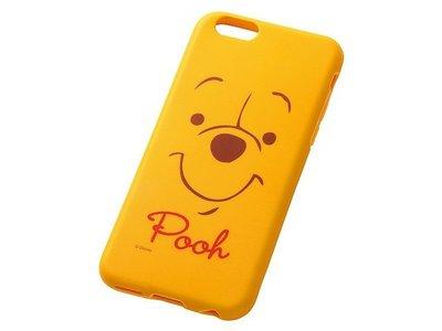 尼德斯Nydus~* 日本 迪士尼 小熊維尼 Winnie Pooh 軟殼 手機殼 大臉款 4.7吋 iPhone6