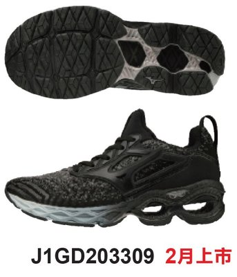 棒球帝國- Mizuno 美津濃 2020 WAVE CREATION WAVEKNIT 女慢跑鞋 J1GD203309