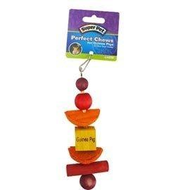 【🐱🐶培菓寵物48H出貨🐰🐹】SUPPER PET 》小動物專用造型啃木串1入 特價100元