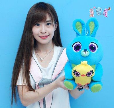 正版迪士尼兔崽子鴨霸玩偶~玩具總動員娃娃~兔子玩偶~兔崽子娃娃~鴨霸娃娃~兔子娃娃~生日禮物