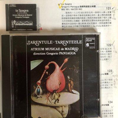 愛樂熊貓*西德版(無ifpi)TAS名盤La Folia/Spagna姊妹作Tarentelle泰朗迪舞曲Paniagu