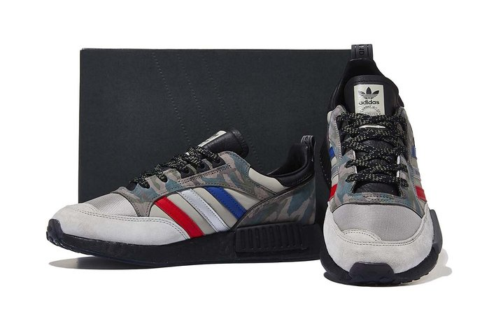 Washoes adidas Boston Super x R1 Boost G27936 黑 灰 迷彩 男鞋 慢跑鞋