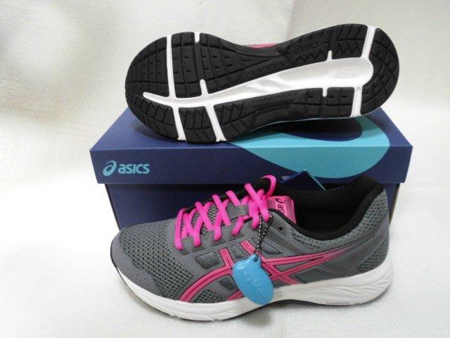 【n0900台灣健立最便宜】2019 ASICS GEL-CONTEND 5 (D)女寬楦慢跑鞋 1012A231-02