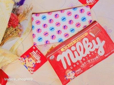 日本不二家 牛奶妹 筆袋