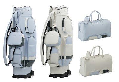 藍鯨高爾夫 YAMAHA GOLF【限量新款】 女用高爾夫桿袋(附輪) +衣物袋組 #Y18CBF/BBF