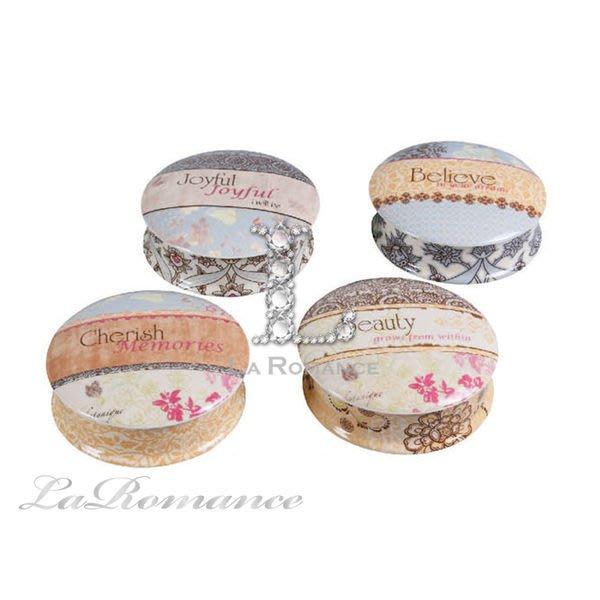 【Creative Home】Cottage Chic 法式田園系列陶瓷珠寶盒 / 置物盒 (共四款)