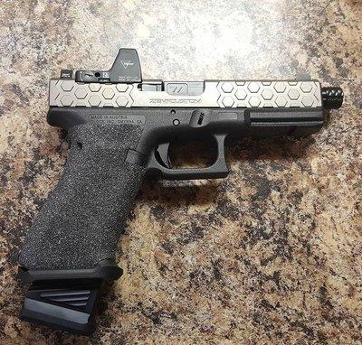 【WKT】5KU VFC 謎版GLOCK 專用 IPSC ZEV彈匣底板 黑色 -5KU-GB-446-BK