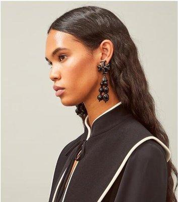 【全新正貨私家珍藏】TORY BURCH ROXANNE TASSEL EARRING 耳環((夾式款))