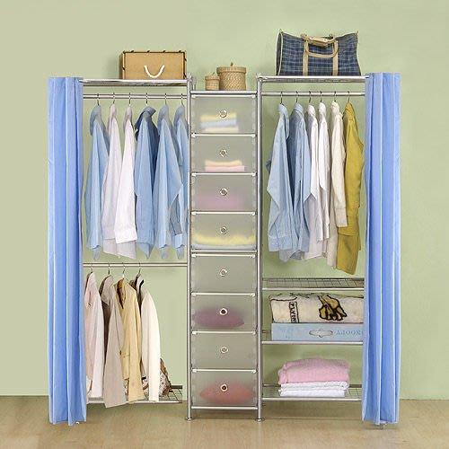 【中華批發網DIY家具】D-62A-08-W2型60+pp+W4型60衣櫥置物櫃-(前罩)不織布
