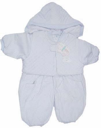 可愛寶貝---◎◎全新帽子+白兔繡花背心+素色鋪棉兩用連身衣---特厚◎◎☆☆