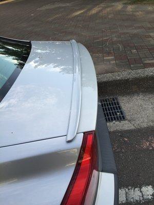 BMW E39 專用 鴨尾 尾翼