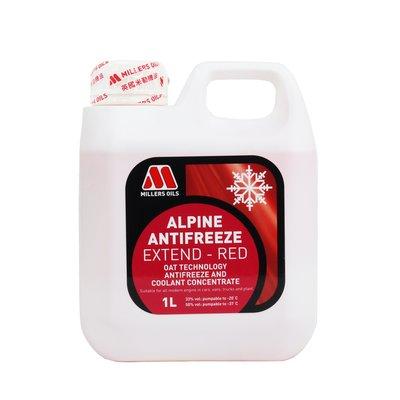油購站 附發票 MILLERS 米勒公司貨 ALPINE ANTIFREEZE EXTEND-RED 水箱精 #5668