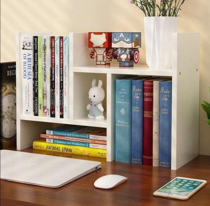 書架 書架簡易桌上置物架 簡約現代學生用宿舍小書櫃兒童收納辦公書桌面