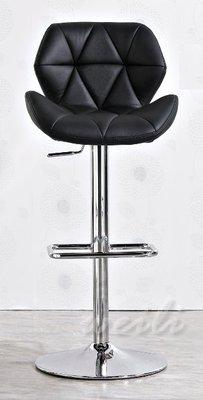 9H【新北蘆洲~偉利傢俱】伊恩黑色升降吧椅-編號(H532-2)【H系列商品另有優惠】