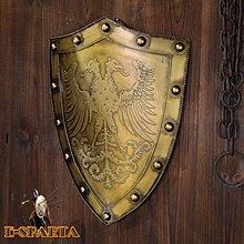 斯巴達300勇士盾牌影視舞台道具演藝廳擺設中世紀騎士盾牌