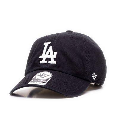 【YZY台灣】47 BRAND LA DODGERS 洛杉磯 道奇 老帽 復古帽 老爺帽 MLB LOGO 經典 黑