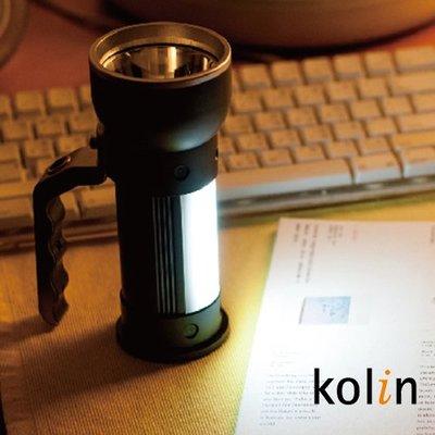 Kolin 32W亮度LED多功能手電筒/手電筒/停電/搜救/颱風天 EH32W01