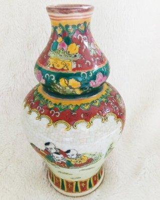 阿公林丁傳收藏物 花童花瓶