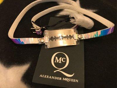 全新 正貨 MCQ mcq Alexander McQueen 手鐲 bracelet necklace 手帶