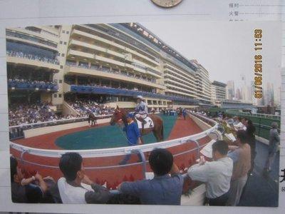 馬會系列一跑馬地馬場明信片2002年        N6