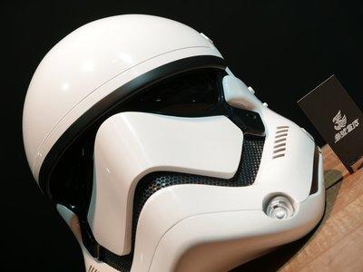 (參號倉庫) ANOVOS 星際大戰EPVII 帝國暴風兵 白兵 頭盔 1:1 Ready To We 完成品 1/1
