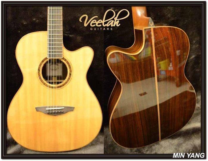 *民揚樂器*/ Veelah V5-OMCE 面單 電木吉他 / GSP優良樂器商