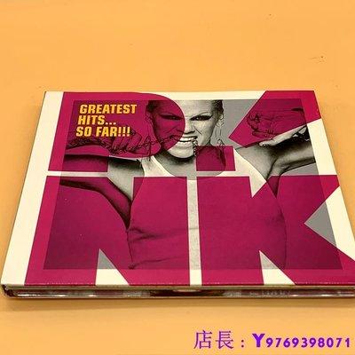 全新CD音樂 精選 粉紅佳人 PINK SO FAR CD 專輯