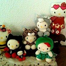 kitty收藏級,絕版,絨毛娃娃1