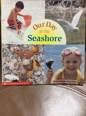 兒童美語/英文書/英文/英文繪本童書/夏天戶外系列(海邊的一天)Our Day at the Seashore‧平裝~