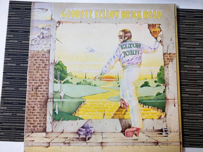 Elton John Goodbye the yellow brick road, 黑膠 2 LP (非復刻), 優如新