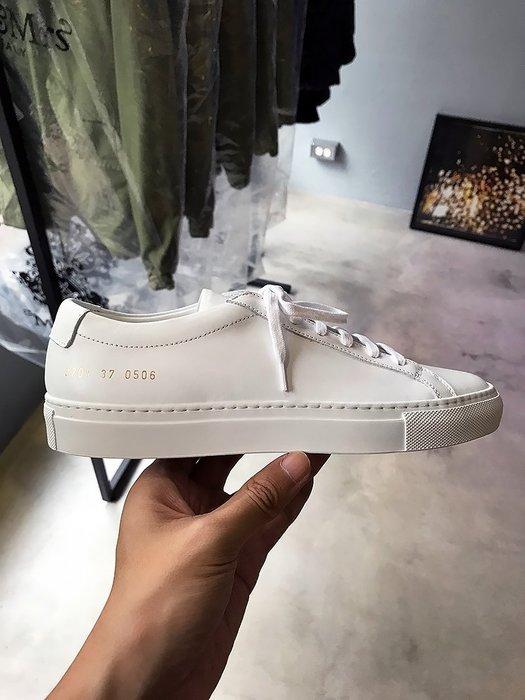 現貨【COMMON PROJECTS】19春夏 ORIGINAL ACHILLES皮革休閒鞋 白 女款 *30%OFF*