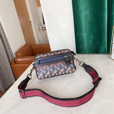㊣國際品牌COACH庫㊣美國代購COACH 89084 4月新品【2件免運】新款馬拉車相機包 斜背包 女側背包