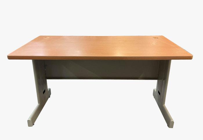 【宏品二手家具館】台中大里2手傢俱家電拍賣 C122101*木紋OA辦公桌*辦公椅 辦公設備 辦公桌 各式辦公鐵櫃找宏品