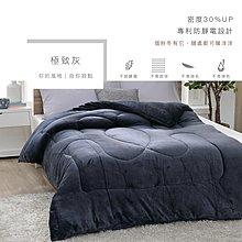 【現貨】超激厚法蘭絨暖暖被 極致灰 台灣製 150x200cm 毯被 毯子 毛毯  BEST寢飾