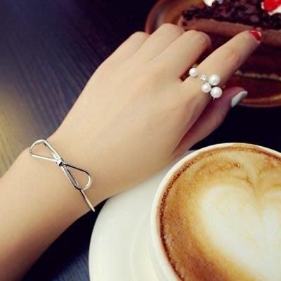 925純銀戒指 鑲鑽開口戒-氣質淑女唯美珍珠情人節生日禮物女飾品2色73dv29[獨家進口][巴黎精品]