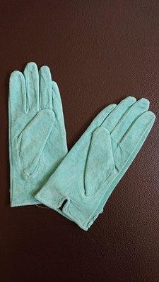 帝芬妮綠麂皮手套(25)