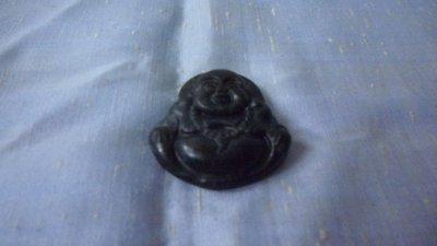 紫色小館7--------墨玉雕彌勒佛