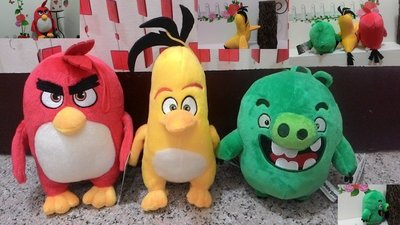 電影憤怒鳥~憤怒鳥吊飾~3隻一組只要$400元~銳德~Angry Birds~車上吊飾~包包吊飾~生日禮物