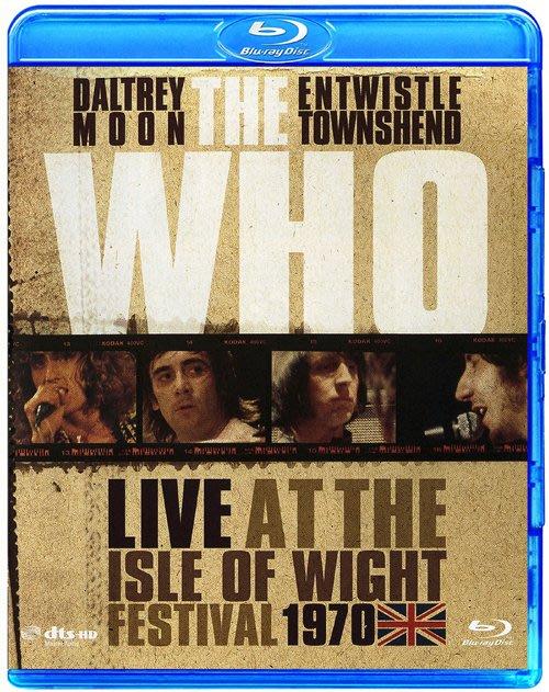 高清藍光碟 The Who Live At The Isle Of Wight Festival (藍光BD25G)