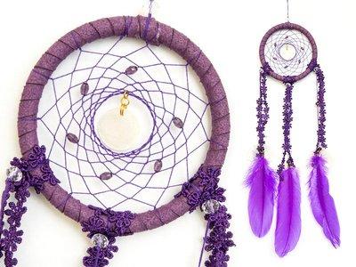 捕夢網 DIY材料包✿紫羅蘭色✿『繼承者們款式』聖誕節禮物、情人節禮物、交換禮物、生日禮物、畢業禮物