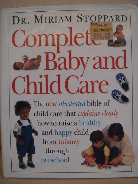英文書Dr. Mariam Stoppard 著【Complete Baby And Child Care】,無底價!