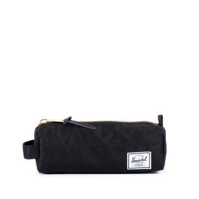 美國東村【HERSCHEL】SETTLEMENT CASE 鉛筆袋 萬用小袋 經典黑帆布金拉鍊