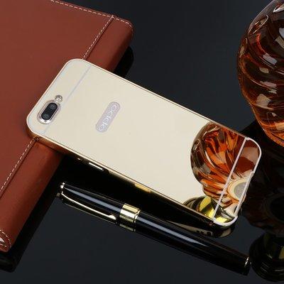 丁丁 OPPO Find 7 5 X9007 X909 X9 Plus 奢華電鍍鏡面金屬邊框手機殼 抗震防摔 手機保護套