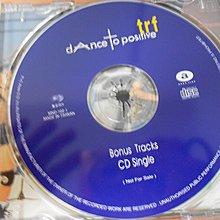 【采葳音樂網】-西洋CD – 〝Bonus Tracks CD Single 〞 *  * 共1 片A7