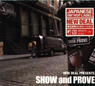 (日版全新未拆) NEW DEAL PRESENTS SHOW and PROVE  - 初回限定盤專
