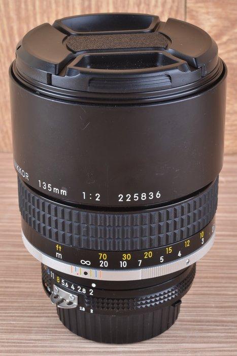【品光數位】Nikon AIS 135mm F2 定焦 望遠 手動 #42365A